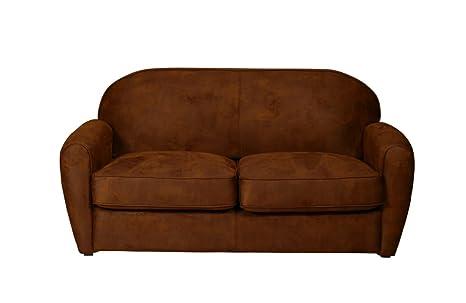 Vintage Cigar Sofa 3 Sitzer braun