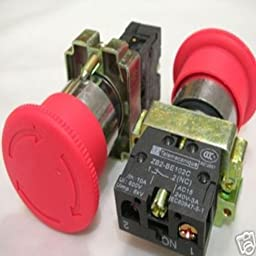 HOT SALE!!! BARGAIN PRICE!!! 5,Telemecanique Emergency Stop Push Button Switch,XB2 in Business