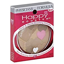 Physicians Formula Happy Booster Glow & Mood Boosting Powder, Light Bronzer 7320, 0.4 oz (11 g)