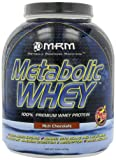 MRM Metabolic Whey Protein Supplement, Rich Chocolate, 5-Pound Jar