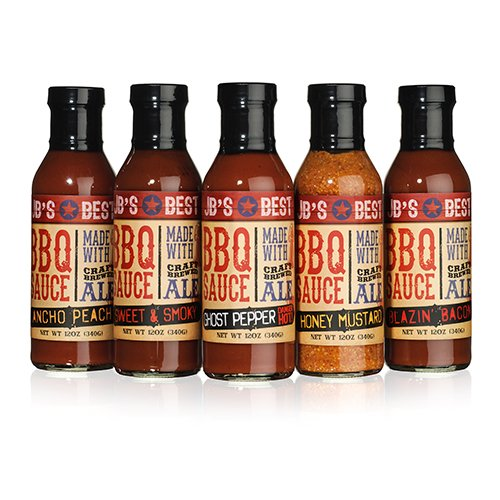 JB's Best All Natural Beer-Infused BBQ Sauce - Sriracha (12 ounce) (O Sauce compare prices)