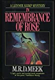 img - for In Remembrance of Rose book / textbook / text book