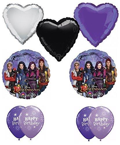 Disney the descendants happy birthday balloon decoration for Balloon decoration kit