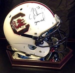 Jadeveon Clowney Autographed South Carolina Gamecocks Game Used Helmet