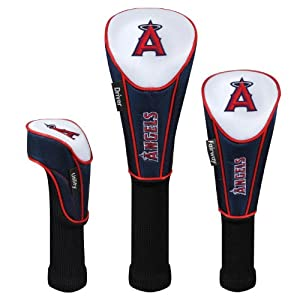 MLB Los Angeles Angels Set of Three Headcovers by McArthur