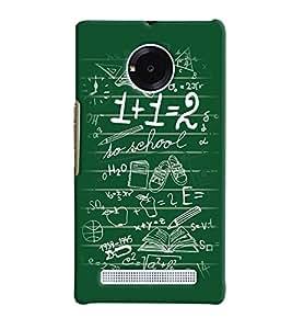 PrintVisa Corporate Print & Pattern Engineer Math 3D Hard Polycarbonate Designer Back Case Cover for Yu Yunique