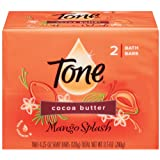 Tone Bath Soap Mango Splash With Cocoa Butter And Botanicals 4.5 Oz. 2-Count