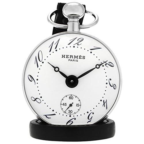 [エルメス]HERMES 置時計 パンデュレットボウル ホワイト文字盤 手巻き BO1810.130.VBN  【並行輸入品】