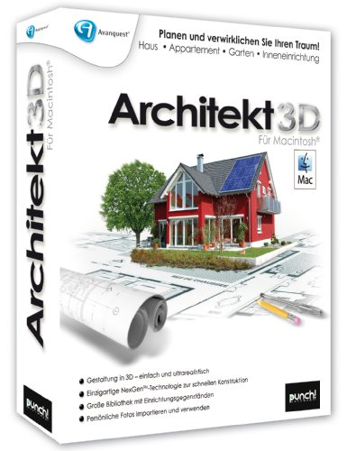 g nstig 3d cad architekt master architektur software. Black Bedroom Furniture Sets. Home Design Ideas