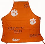 "Clemson Tigers Apron (26""X35"") with 9"" Pocket at Amazon.com"