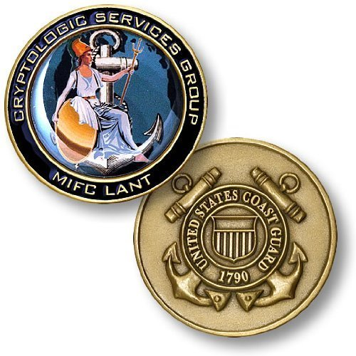 USCG Cryptologic Services Group Challenge Coin