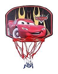 Mesuca Disney Cars Mini Basketball Board, Multi Color
