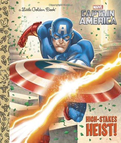 High-Stakes Heist (Marvel: Captain America) (Little Golden Book)