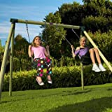 Marrmoset Wooden Pole Swing Set