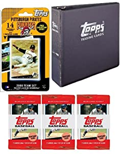 Pittsburgh Pirates 2009 Topps MLB Team Set with 3 Ring Binder and 3 Topps Packs by Topps