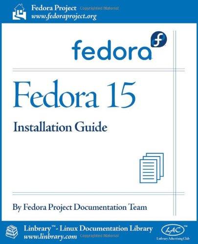 Fedora 15 Installation Guide