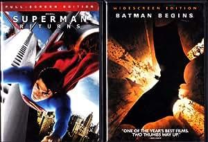 Amazon.com: Superman Returns , Batman Begins : Superhero 2 ...