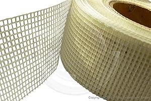 glasfaser gewebeband selbstklebend f r trockenbauer 2 85 x 2 85 mm 60 gr m baumarkt. Black Bedroom Furniture Sets. Home Design Ideas