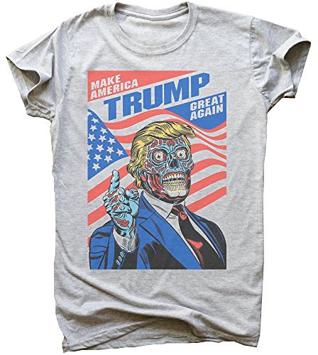 Zombie Trump Gonna Make America Great Again Men's T-Shirt Medium