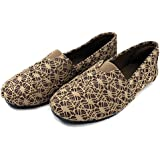 Cammie Women's Canvas Slip On Fashion Shoe Flats Espadrilles