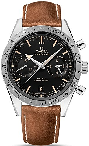 Omega Speedmaster 57 Co-Axial Chronograph Men's Watch 331.12.42.51.01.002 (Omega Skeleton compare prices)