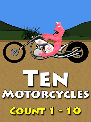 Ten Motorcycles - Children Learn To Count To Ten