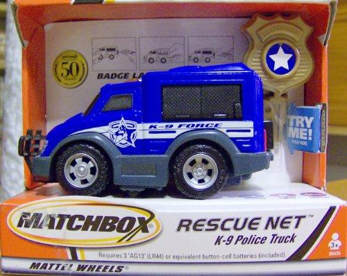 Matchbox Rescue Net K-9 Police Truck - 1