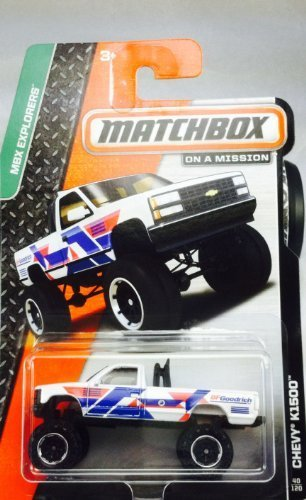 2014 Matchbox MBX Explorers - Chevy K1500 - 1