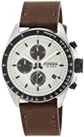 Fossil Decker Chronograph Leather Watch - Brown Ch2882 from FOSSIL