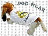 ◆愛犬服/ドッグウェア◆Real Madrid【レアル・マドリード】 タンク★犬服/ペット服/小型犬/中型犬/Tシャツ/タンクトップ/パーカー