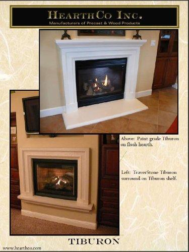 Tiburon Precast Fireplace Mantel and Surround (Precast Fireplace Mantel compare prices)