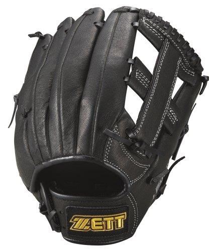 Zed (ZETT) softball for grabs lightex for all-round black RH (for Southpaw) BSGA58280