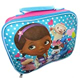 Doc McStuffins Girl's Sparkle Insulated School Lunch Bag