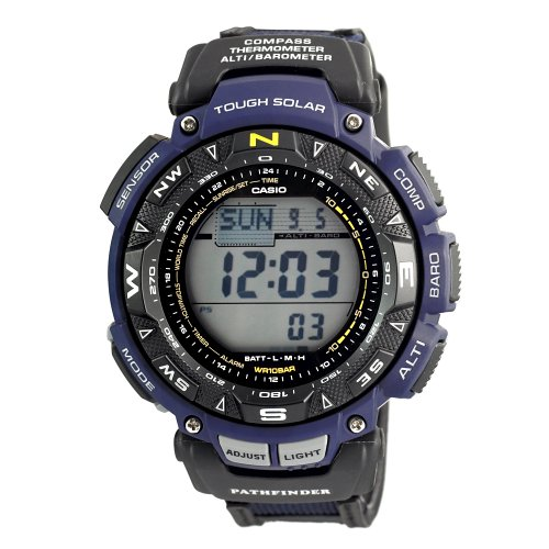 Casio Men&#8217;s PAG240B-2CR Pathfinder Triple Sensor Multi-Function Sport Watch