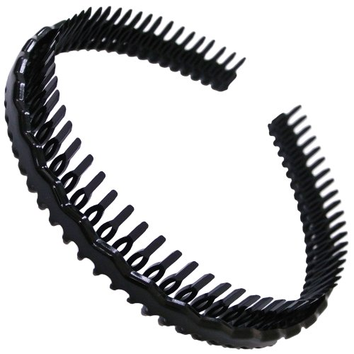 (Bite guard ya) Barrettes hair accessories headband comb with small black