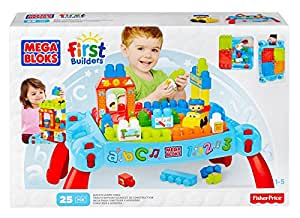 Mega Bloks Play 'n Go Table (Colors May Vary)