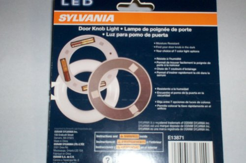 Sylvania LED Door Knob Light New Free Shipping eBay