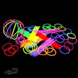100 Knicklichter! KNALLBUNT, fabrikfrisch, Premium-Class! Arm Knicklichter in 7 (!) knalligen Trendfarben! 205mm x 5mm. Ideal fr Ihre Party! Hier im Komplettset! OHNE krebserregende Weichmacher (Phthalate)! Neueste Generation!