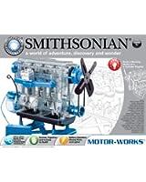 エンジン模型 スケルトンエンジンプラモデル Smithonian スミソニアン
