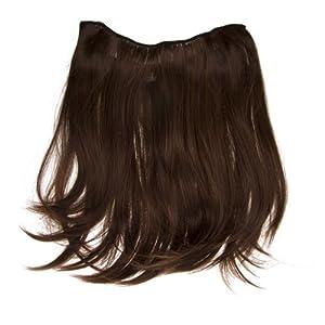 2 Piece Wavy by Put On Pieces Hair Extensions,Dark Auburn