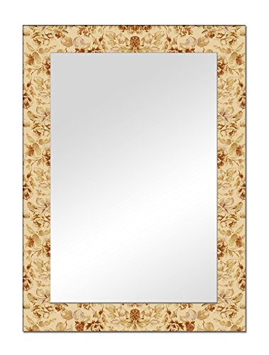 The Attic Murray Mirror Frame (Glossy Finish, Brown)