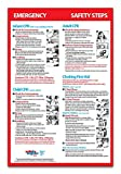 Infant, Child & Adult CPR & Choking First Aid - Non-laminated, 12x18 Poster - 2015 Guidelines