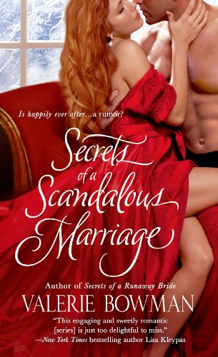 Secrets of a Scandalous Marriage (Secret Brides) by Valerie Bowman