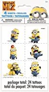 Despicable Me 2 Tattoo Sheets 4-Piece