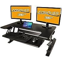 Conquer Desktop 240-SITSTND01 Ergonomic Workstation
