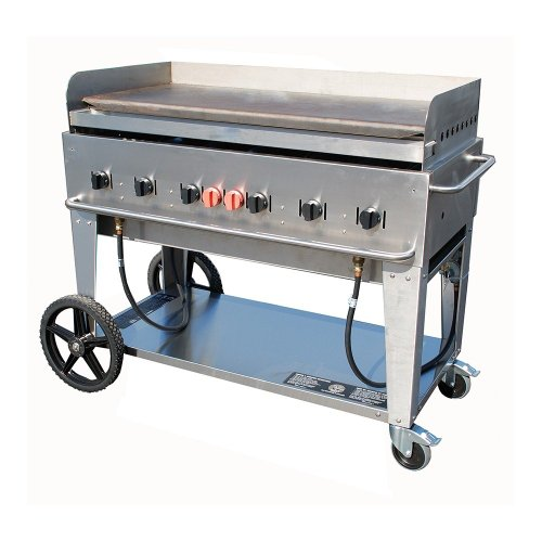 """Crown Verity MG-48 Portable Outdoor Griddle - 48"""""""