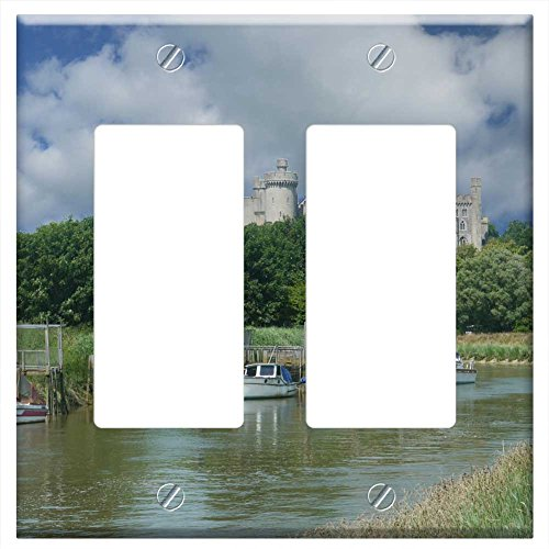 waplate-arundel-castle-and-river-arun-switch-plate-double-rocker-gfci
