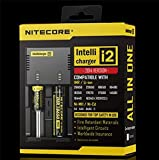 Nitecore Intellicharger i2 Li-ion Ni-MH Ni-Cd 18650 RCR123 26650 Battery Charger