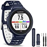 Garmin Forerunner 630 GPS Smartwatch - Midnight Blue - Midnight Blue Watch Band Bundle includes Forerunner 630 and Midnight Blue Watch Band