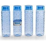 Steelo 1100ml X 4 Pcs Premium PET Bottle Set (Solitaire Blue)
